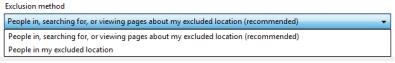 Ciljanje lokacije u AdWords Editoru